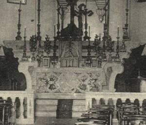 Autel de l'Eglise Saint-Martin