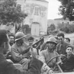 Libération de Patrimonio, l'armée à Santa Maria