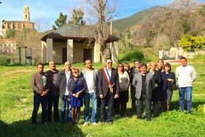 Le nouveau conseil municipal de Patrimonio